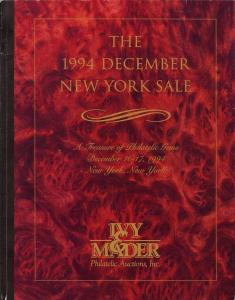 Ivy & Mader: Sale #   -  The 1994 December New York Sale,...