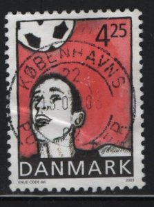 DENMARK, 1244,  HINGED, 2003, Youth sports