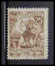 Yugoslavia CTO NG Fine ZA5545