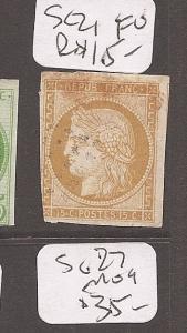 French Colonies SC21 FU (8cbf)