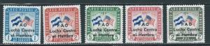 Honduras C320-4 1964 Hunger set MNH