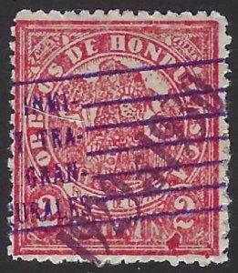 HONDURAS 261 USED SCV $3.50 BIN $1.40 PERSON