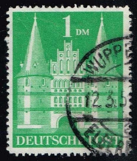 Germany #658a Holsten Gate, Lubeck; Used (0.45)