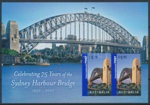 Australia stamp Bridge block 2007 MNH Mi 69 WS234949