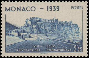 1939 Monaco #177-181, Complete Set(5), Hinged