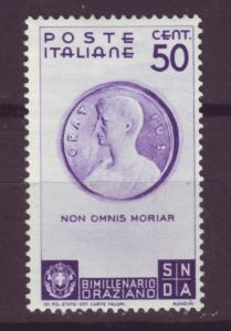 J13933 JLstamps 1936 italy mh #362 horace