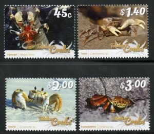 TOKELAU SCOTT#442/78  CRABS   MINT NEVER HINGED--SCOTT $9.25
