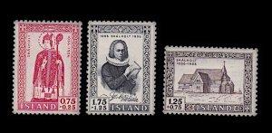 ICELAND B14-B16 MNH