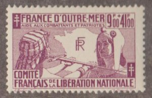 French Colonies Scott #B2 Stamp - Mint NH Single