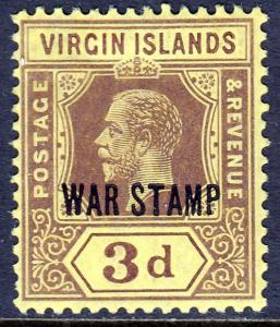 Virgin Islands - Scott #MR2 - MH - SCV $3.50