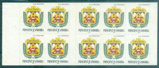 Andorra - French #491a  MNH  Scott $12.50   Booklet