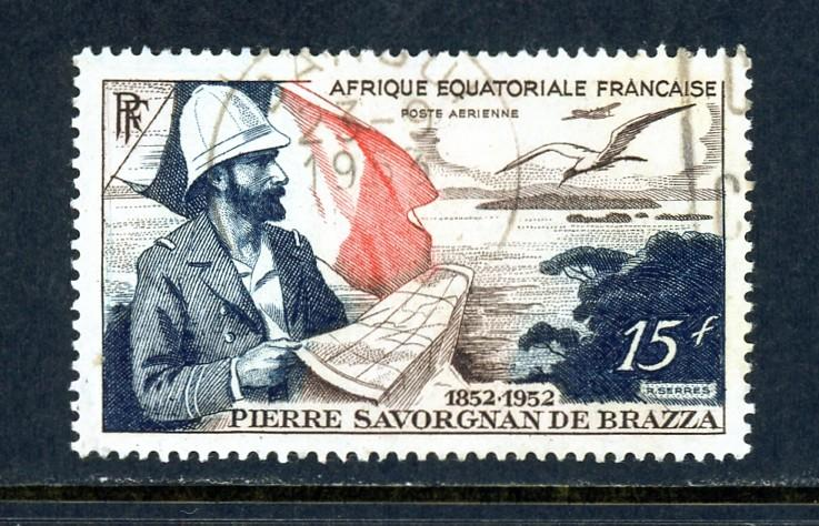 French Equatorial Africa C35 Used