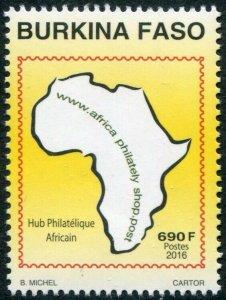 HERRICKSTAMP BURKINA FASO Sc.# 1379 2016 Hub Philatelic