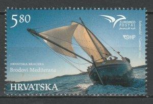 Croatia 2015 Ships MNH stamp