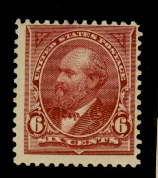 282 MINT F-VF OG NH Cat$140