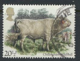 Great Britain SG 1241 - Used - British Cattle