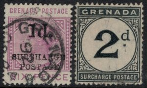 Grenada #J4,9  CV $6.00