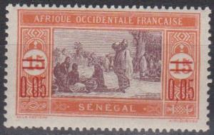 Senegal #130 F-VF Unused (B3807)