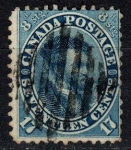 Canada #19 F-VF Used  CV $200.00 (X4948)