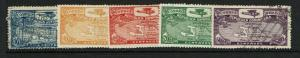 Dominican Republic SC# C1 - C5 Used (C2 & C3 Mint) / See Notes - S7587