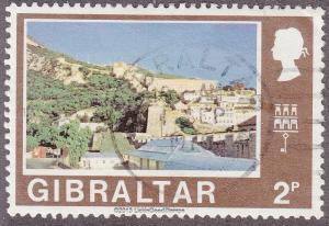Gibraltar 247 Hinged 1971 North Bastion