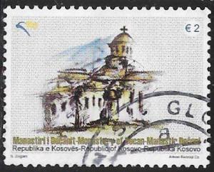 U.N. Kosovo 119 Used - Decan Monastery