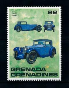 [100244] Grenada Grenadines 1988 Classic Cars 1930 Tracta  MNH