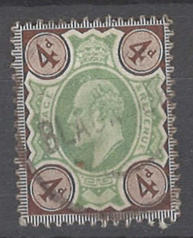 COLLECTION LOT OF # 1952 GREAT BRITAIN #133 1911 CV=$35