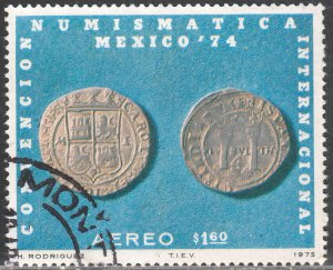 MEXICO C461 International Numismatic Convention. USED. F-VF. (1318)