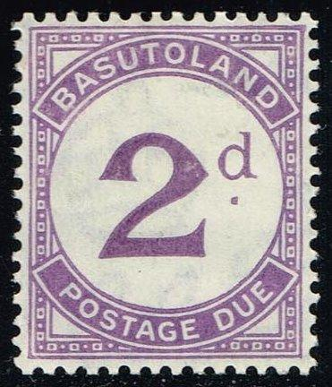 Basutoland #J2 Postage Due; Unused (0.40)