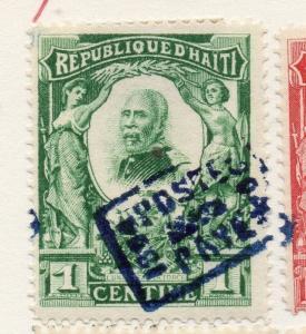 Haiti 1904 Early Issue Fine Used 1c. 073453