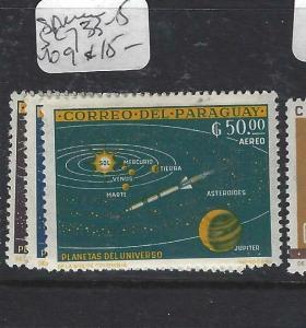 PARAGUAY  (P2505B)  SPACE  SC 733-5   MOG