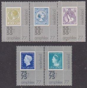 Netherlands #B524a,526a MH set