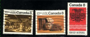 Can #570-71,573   u   VF 1974 PD
