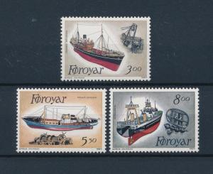 [47755] Faroe Islands 1987 Fishing boats MNH