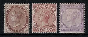 Jamaica 1897 SC 28-30 LH CV $115