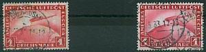 GERMANY - ZEPPELIN - Michel 455 x 2 - USED