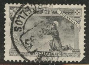 PORTUGAL Scott 132 Used 2.5r St. Anthony 1895