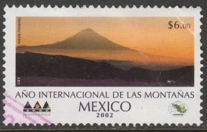 MEXICO 2287, International Year of the Mountains. USED. F-VF. (1498)
