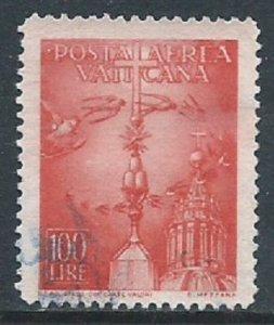 Vatican City, Sc #C15, 100 l, Used