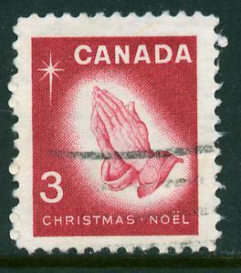 Canada 451, 3c Christmas Season. Used. (506)