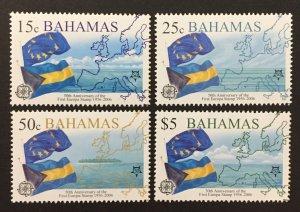 Bahamas 2005 #1150-3, Europa 50th Anniversary, MNH.
