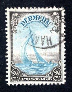 BERMUDA #109  VF, Used, CV $16.00   .... .  0650097
