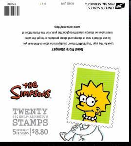 4403b Mint,OG,NH... Booklet Pane... SCV $23.00... Cover #4