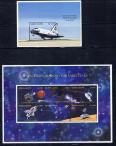 Sierra Leone 1904-05 NH 1995 Space Shuttle