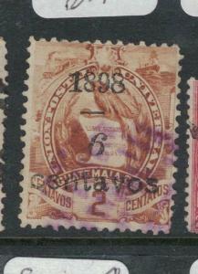 Guatemala 1898, 6c/2c VFU (2dwa)