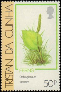 Tristan Da Cunha #460-463, Complete Set(4), 1989, Plants, Never Hinged