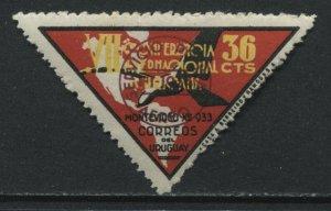 Uruguay 1933 36 cent Airmail mint o.g.