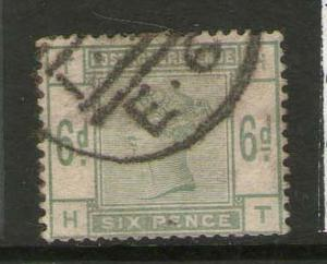 GB 1883 Queen Victoria SG 194 FU