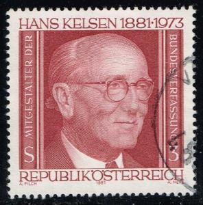 Austria #1191 Hans Kelsen; Used (0.25)